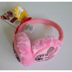 Sun City zimní klapky na uši Minnie růžové dětská čepice - Nejlepší ... 8a7b578407