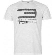 Jack & Jones Tech 2NF Graphic T Shirt Mens White