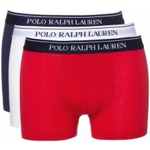 82e166b914 Ralph Lauren Boxerky Modrá Červená Bílá Pánské 3 pack
