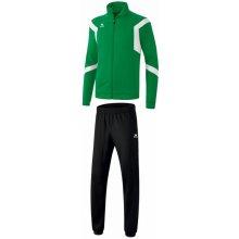Erima dětská tréninková tepláková souprava Classic Team Tmavě zelená Bílá černá