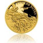 Česká mincovna Zlatá mince Válečný rok 1943 Bitva u Kurska proof 3 11 g