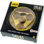 Fidget spinner kovový zlatý