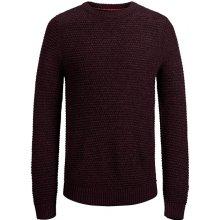 516979e1269 Jack Jones Pánský svetr Jordale Knit Crew Neck Port Royale Knit Fit
