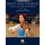 Lindsey Stirling: Beauty And The Beast Medley / Kráska a zvíře (noty na housle, klavír)
