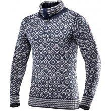 Devold Svalbard sweater zip necksvetrunisexINK/GREY