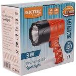 EXTOL svítilna 3W CREE LED 150lm