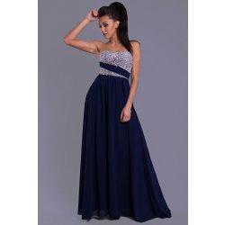 Eva   Lola dámské společenské plesové šaty tmavě modré alternativy ... 5e319d3a8b