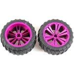 REVELL UTIONS 47033 Set 2x Wheel for Monster lilac