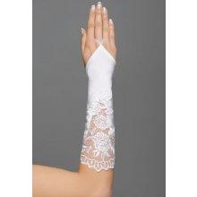 svatební rukavičky s krajkou