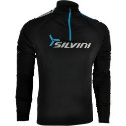 Pánská mikina Silvini Altissima MJ419 Pánská termo mikina black blue ef68e2246c4