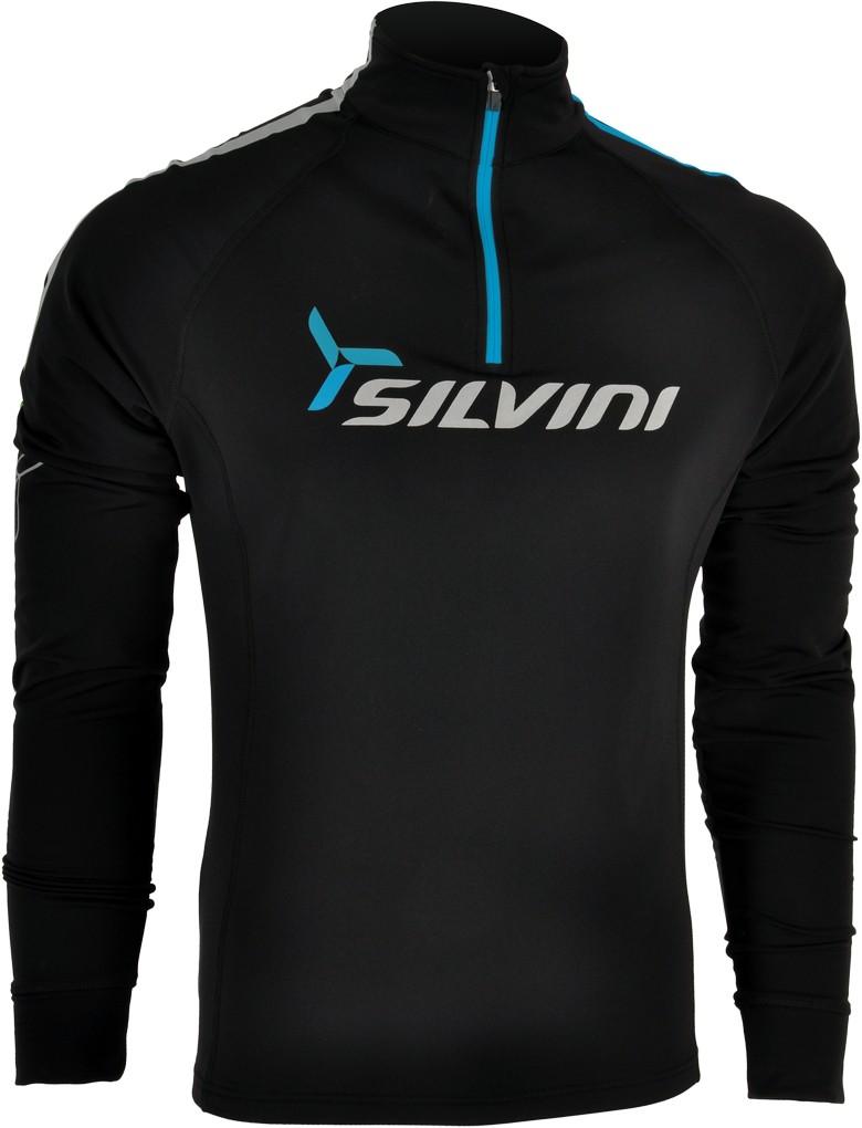 Silvini Altissima MJ419 Pánská termo mikina black blue 2aec61d0df