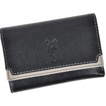 Harvey Miller Polo Club 5031 156 dámská kožená peněženka černá