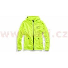 100% mikina na zip s kapucí Union fluo žlutá 071e72f809