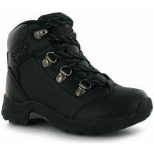Campri leather junior walking Boots Black