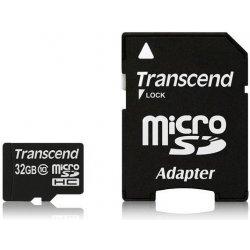 Transcend microSDHC 32GB UHS-I TS32GUSDHC10