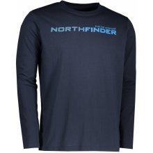Northfinder Pánské triko s dlouhým rukávem Ignazio Darknavy TR3265SP-304