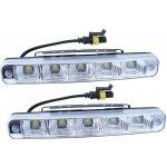 Titanium Denní světla 5 LED 12/24V 189x28x39mm