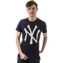 New Era Mens New York Yankees Logo T Shirt Navy