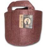 Root pouch textilní květináč Boxer brown 16l, nedegradující, 28x26cm s uchem