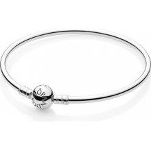 Náramek Pandora pevný stříbrný 590713-19