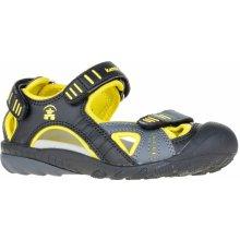 Kamik Dětské sandály žluto-černé