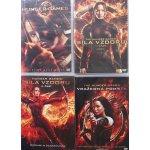 HUNGER GAMES 1 - 4 Kolekce DVD