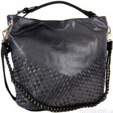 Tapple Unikátní kombinovaná kabelka 3091 černá
