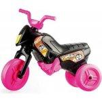Yupee Odrážedlo motorka Enduro malé černo-růžové