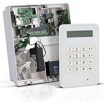 Honeywell Ústředna Galaxy Flex 50 (V3) v plastovém krytu (7 Ah) s komunikátorem a LCD klávesnicí MK8