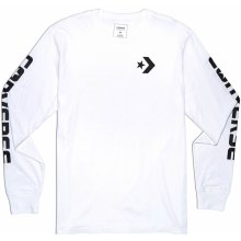 Converse SC Long Sleeve Word T Shirt White/Black