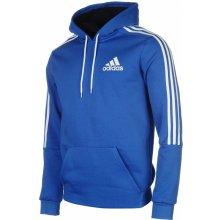 Adidas 3 Stripes Logo Over The Head Hoody Mens Blue/White