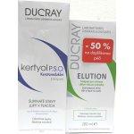 Ducray Kertyol PSO šampon 200 ml + Elution šampon 200 ml dárková sada