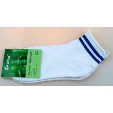 04c63d57606 Pesail dámské bambusové zdravotní kotníkové ponožky bílé