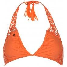 SoulCal Premium Bikini Top Ladies Coral Floral