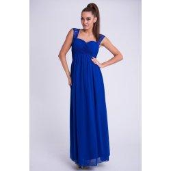 Eva   Lola dámské společenské a plesové šaty dlouhé modrá c729251dc51