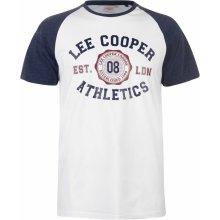 Lee Cooper C Raglan Tee Sn83 White/Navy