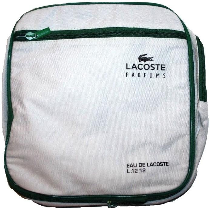 bfe1aae22ac3b Lacoste Eau de Lacoste L.12.12 2v1 taška zelený pruh od 359 Kč - Heureka.cz