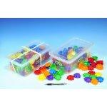 Wader 41600 Kostky Puzzle plast 120ks v plastovém boxu