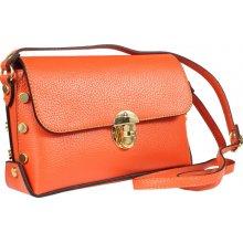 f8bafdf1f9 Astrid Arancione - krásná oranžová italská kabelka