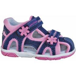 8cba48f82f1 Dětská bota Protetika Dívčí sandály Ibiza - modro-růžové