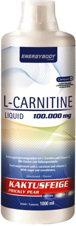 EnergyBody L-Carnitine Liquid 1000 ml - 0