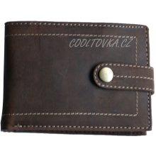 Pánská kožená peněženka HL-264 hnědá