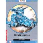 UMBUM 3D puzzle Bojový stroj modrý