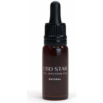 CBD Star Konopný CBD olej NATURAL 10% 10 ml