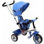 BABY MIX Dětská tříkolka Rapid modrá stříbrný rám