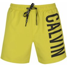 Calvin Klein Intense Drawstring swim shorts yellow 962393 0b9ead33ba