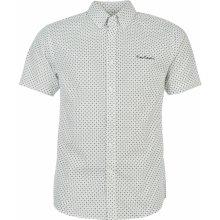 Pierre Cardin pánská košile Wht/Navy Dot