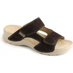 ece84a12dd49 Medistyle Pantofle MIRKA zdravotní obuv tmavě hnědá LM-T14 ...