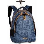 BestWay batoh na kolečkách 40028 5300 šedo modrý