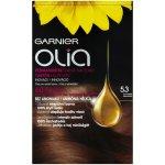Garnier Olia 5.3 Zlatá hnědá barva na vlasy